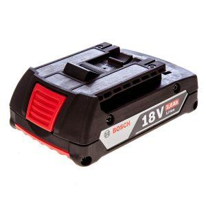 Batería Litio Ion 18 Volt 2,0 Ah Bosch
