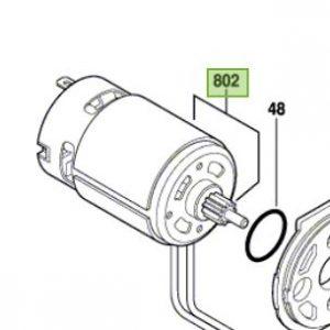 Unidad motor para GDR 1440-LI Bosch / 2609199419